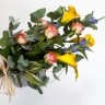 Sheaf of Seasonal Flowers